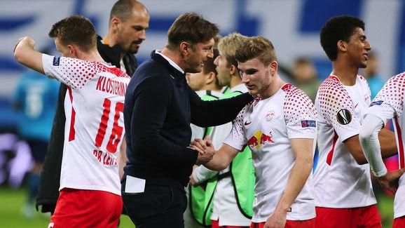 Zenit St Petersburg v RB Leipzig - UEFA Europa League Round of 16: Second Leg