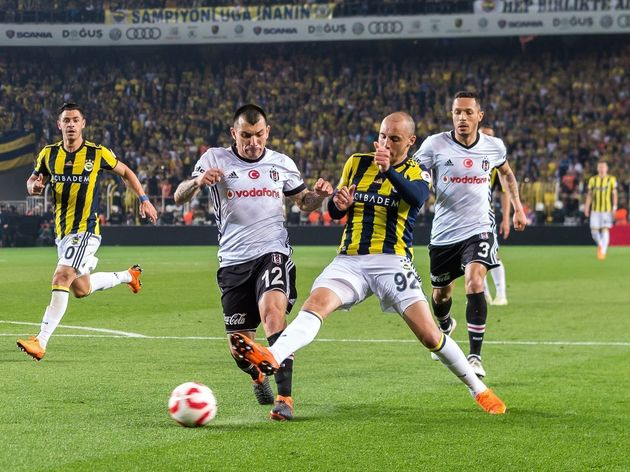 "Ziraat Turkish Cup""Fenerbahce AS v Besiktas AS"""