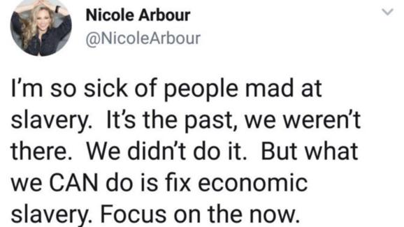 Nicole Arbour tweet