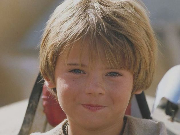 Young Anakin Skywalker as seen in 'The Phantom Menace'