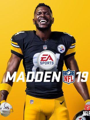 Wide receiver do Steelers, Antonie Brown, é a capa do Madden 19