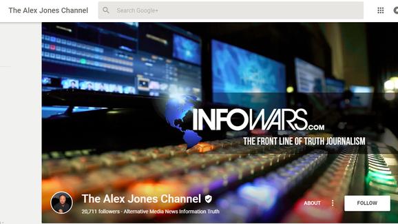 Info Wars Google+