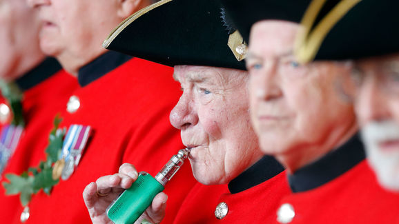 Chelsea Pensioners Attend The Founder's Day Parade At The Royal Hospital Chelsea.