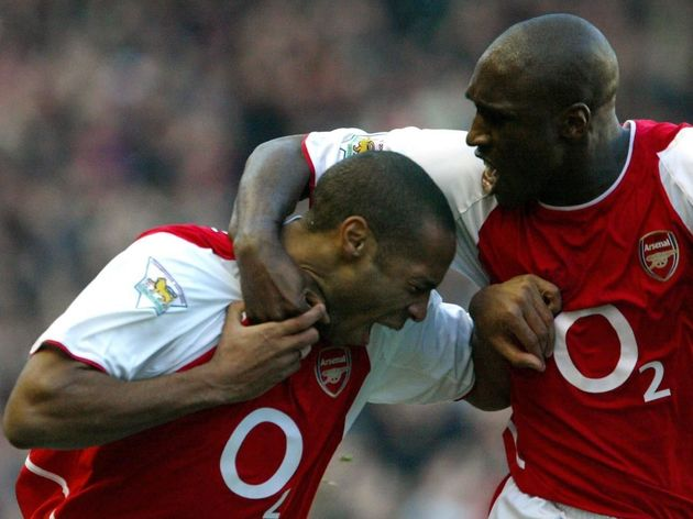 Thierry Henry,Sol Campbell