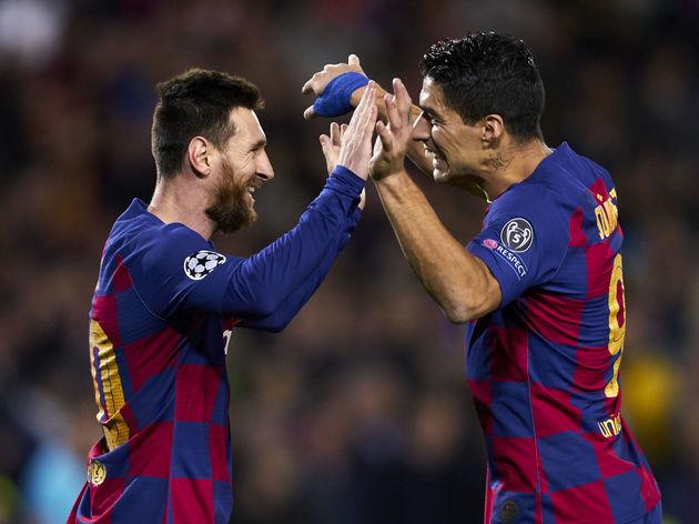 Lionel Messi,Luis Suarez