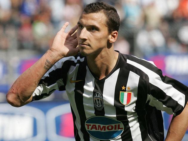 Juventus' forward Zlatan Ibrahimovic cel