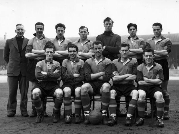 Bob Roxburgh,Harold Brook,Archie Gibson,Jimmy Dunn