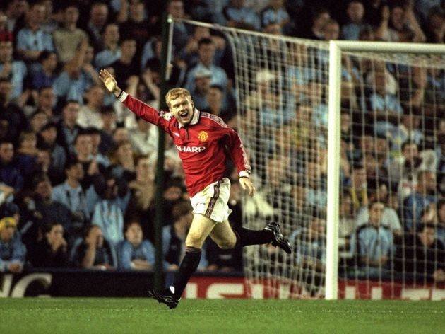 Paul Scholes of Man Utd