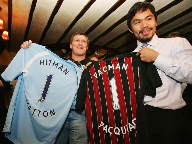 Ricky Hatton,Manny Pacquiao