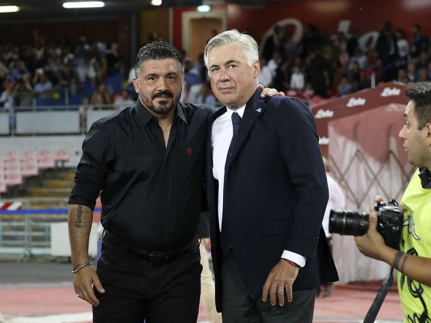 Carlo Ancelotti,Gennaro Gattuso