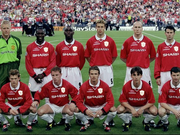 The Manchester United team